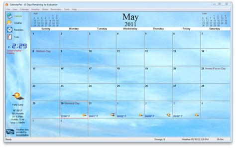 Calendar Desktop Windows 8 Calendarpal Desktop Calendar Free For Windows 10