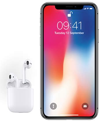 apple iphone  gb space grey  airpods pay monthly