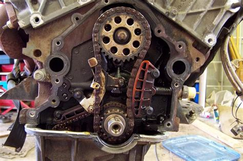 sohc v6 timing chain parts removal procedure ford
