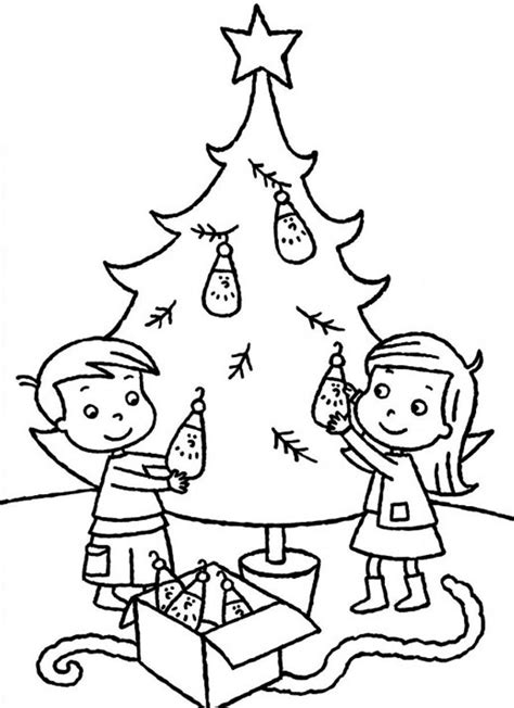 christmas tree coloring page online christmas tree coloring pages online coloring home