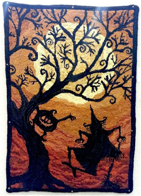 Dinky Rugs by 17 Best Images About Halloween Quilts Rug Hooking Cross