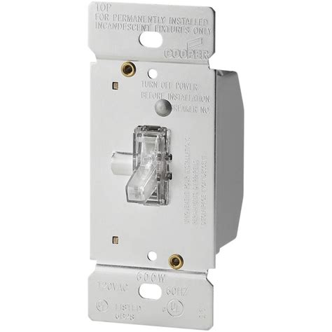 lighted led dimmer switch eaton 600 watt 120 volt single pole 3 way lighted