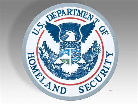 u s department of homeland security plaque or seal ebay