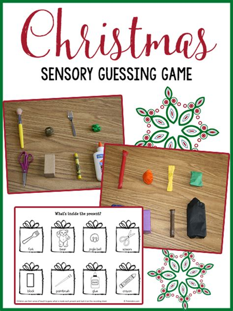 christmas guessing game prekinders