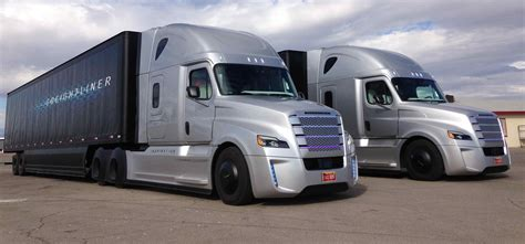 the truck the wheel of freightliner s inspiration autonomous
