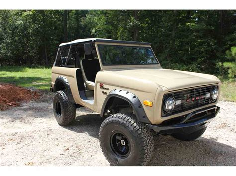 1968 Ford Bronco by 1968 Ford Bronco For Sale Classiccars Cc 1022381
