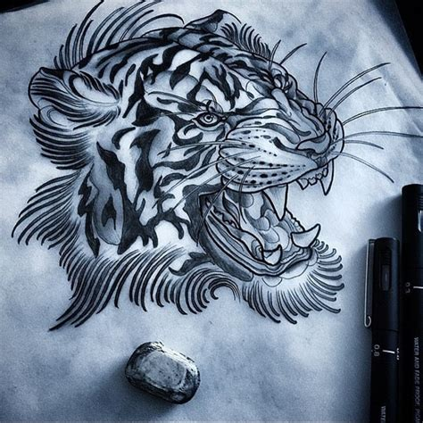 150 best tiger tattoos and meanings may 2018