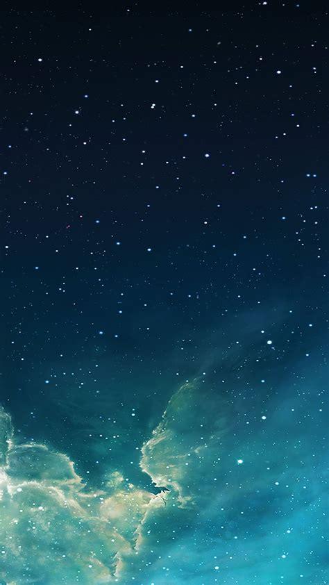 wallpaper galaxy blue  starry star sky iphone