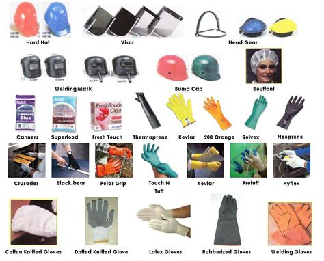 boat names for electricians hsedot personal protective equipments ppe s