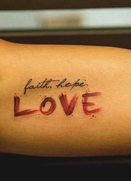 tattoo love life hope tattoos for tattoo love life faith www getattoos us
