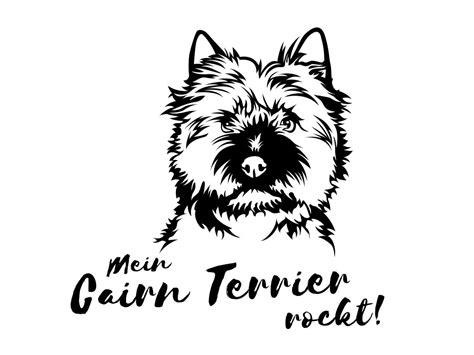 Aufkleber Auto Hunderassen by Hunderasse Aufkleber Cairn Terrier Tierisch Tolle Geschenke