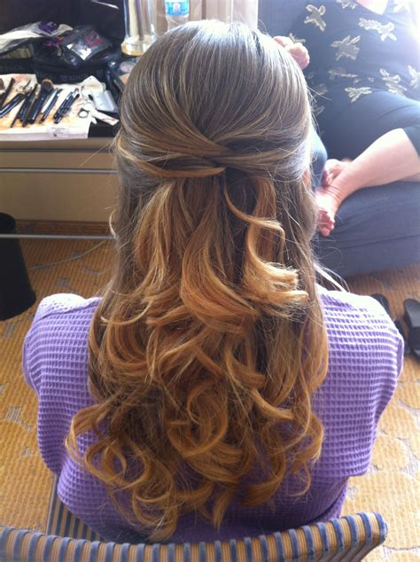 bridal hair vintage waves soft curls prom wedding updo