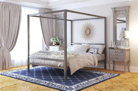 futon bunk beds dhp furniture modern canopy metal bed