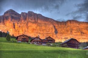 ladari a forma di ladina valli ladine ladinia val badia dolomiti