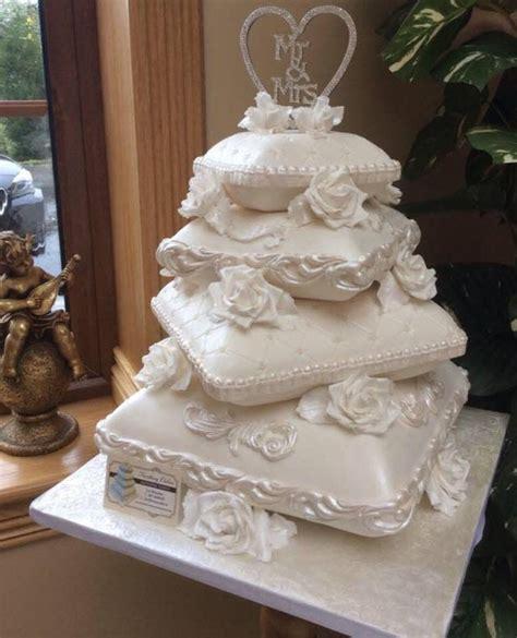 Wedding Cake Pillow by Pillow Cakes Cakesdecor
