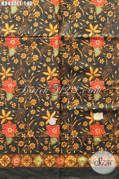 Kain Batik Cap Motif Bunga batik kain motif bunga proses cap tulis batik halus