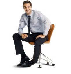 person sitting in chair sitting in chair smiling