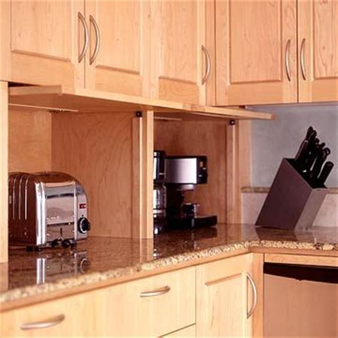 appliance garages kitchen cabinets de 10 b 228 sta id 233 erna om appliance garage p 229 pinterest