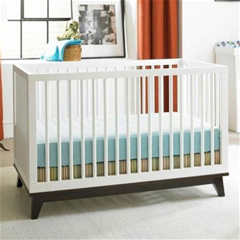 Island Crib by Ti Amo Moderna Island Crib In White Espresso Free Shipping