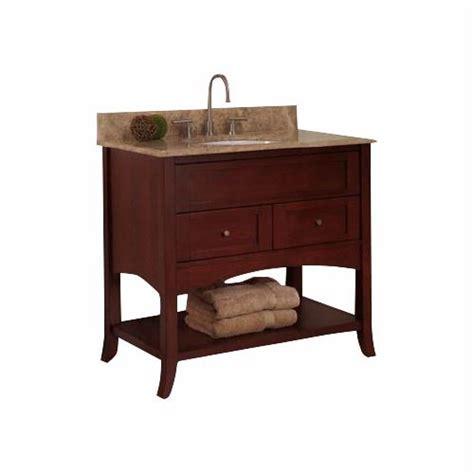 """Fairmont Designs Shaker 36"""" Open Shelf Vanity 125 VH36"""