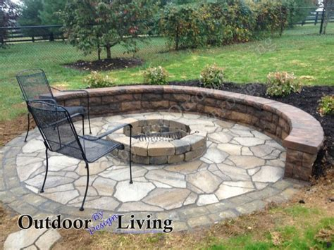 outdoor patio designs with fire pit lighting furniture