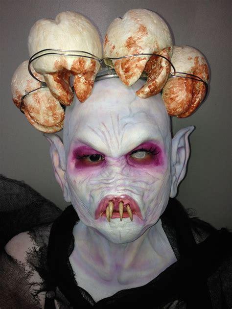 evil tooth fairy model kelsey amor sfx makeup  jamie