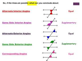 Congruent Alternate Interior Angles Introduction To Angles Ppt Video Online Download