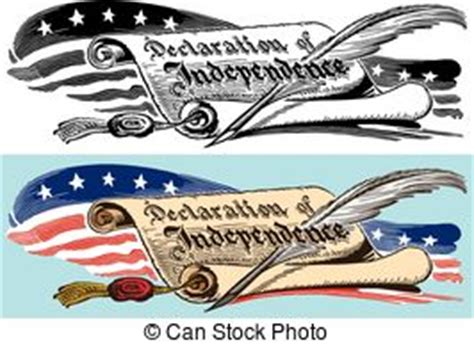 declaration of independence clipart declaration of independence vector clipart eps images 167