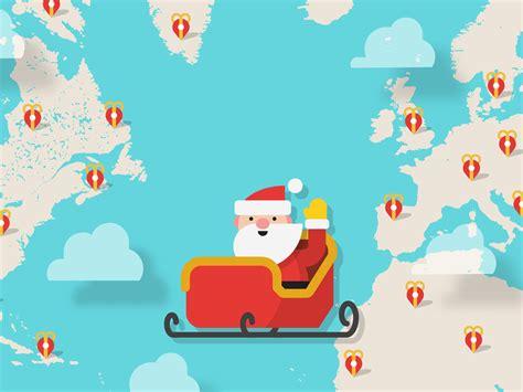 santa tracker track santa santa tracker