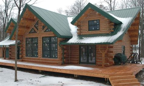 cool cabin designs log cabin modular homes log cabin home with metal roof