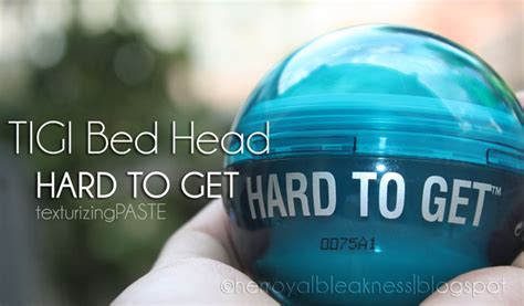 bed head hard to get tigi bed head hard to get review the beauty bin