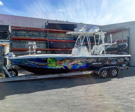 custom boat wraps jason mathias boat wrap designs