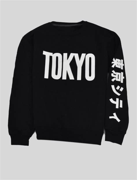 Hoodie Anime In The Streets Zemba Clothing sweater shirt japanese tokyo sweatshirt black