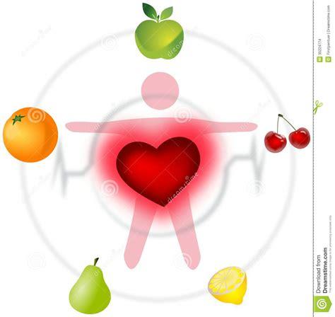 imagenes motivacionales de salud esquema de buena salud con el coraz 243 n y las frutas