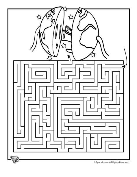 printable science maze earth day maze 2 woo jr kids activities