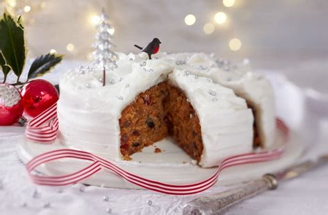 tesco christmas food cake recipe baking tesco real food
