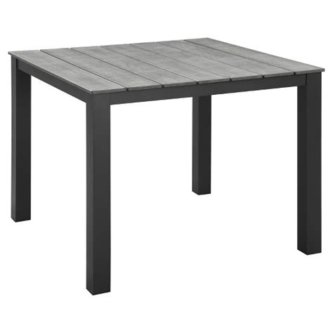 target outdoor dining table maine 40 quot rectangular outdoor patio dining table modway