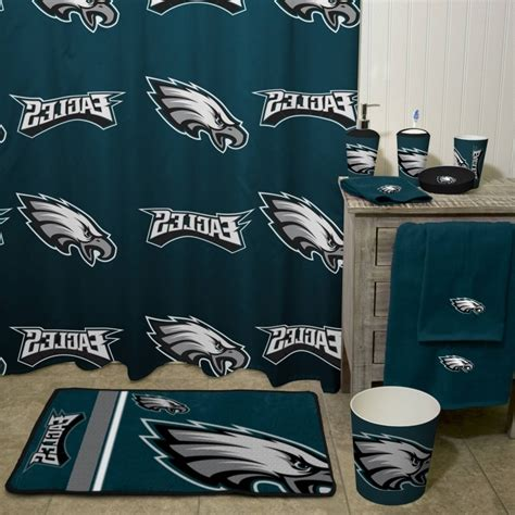 philadelphia eagles bathroom set philadelphia eagles bathroom s on philadelphia eagles nfl