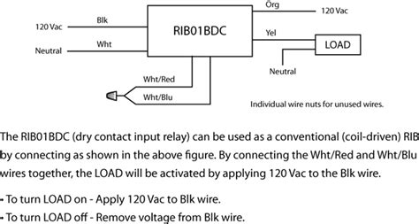rib relay wiring diagram 24 wiring diagram images