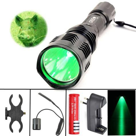 red and green light bulbs led flashlight hunting light green red spotlight cree xm l