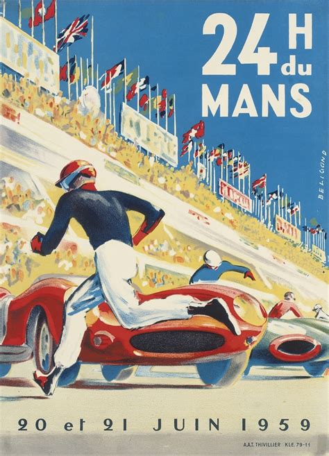 le retro why can t modern racing posters be this cool petrolicious