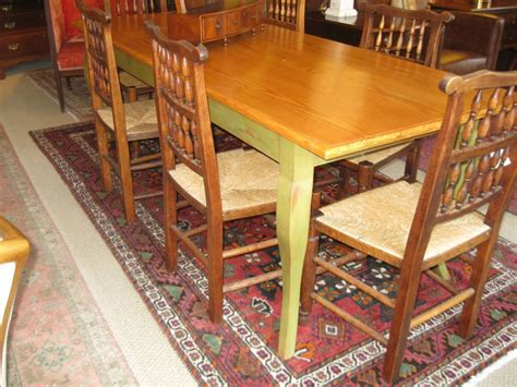 Handcrafted Dining Room Tables - handcrafted farm table