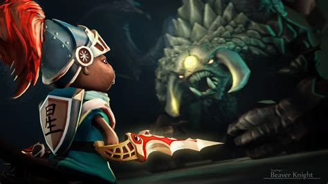 wallpaper dota 2 courier beaver knight vs roshan wallpapers dota 2 hd free download