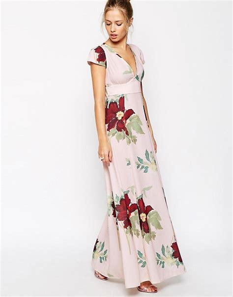 Blomming Maxi asos asos maxi dress in floral bloom print
