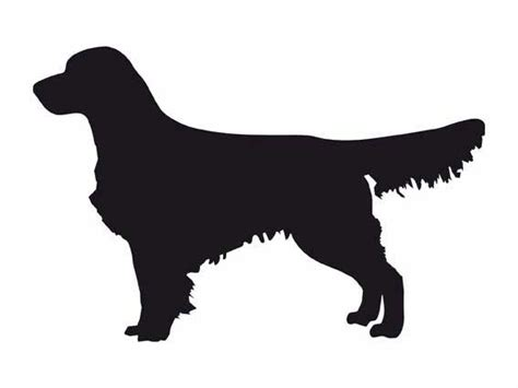 Golden Retriever Sitting Outline by Pics For Gt Golden Retriever Silhouette Clip