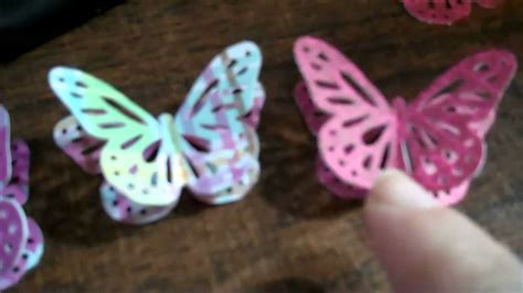 How To Make A 3d Paper Butterfly - 3d paper butterfly martha stewart monarch butterfly