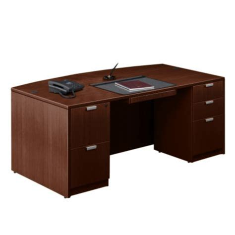 Flat Pack Reception Desk Executive Bow Front Desk 72 Quot W Contemporary Officefurniture
