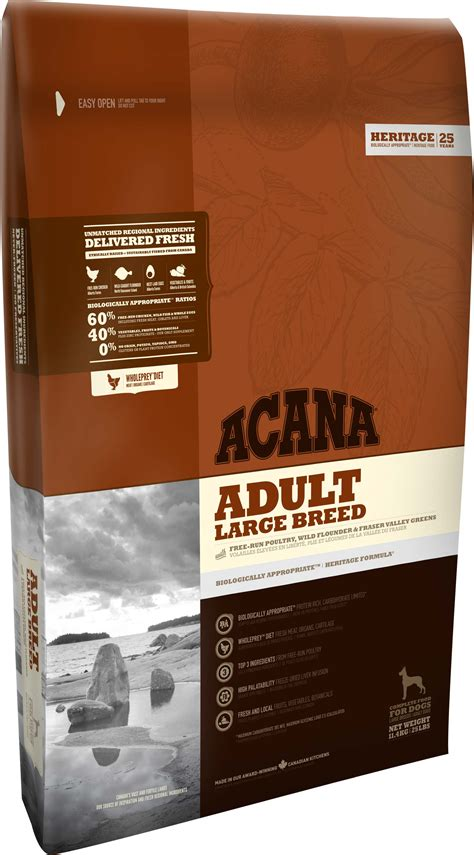 acana puppy large breed large breed acana pet foods