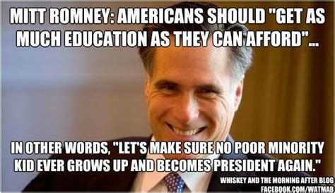 Educational Memes - romney education memes advocating for obama s education plan