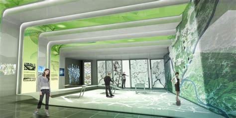 the design for a city information centre hong park